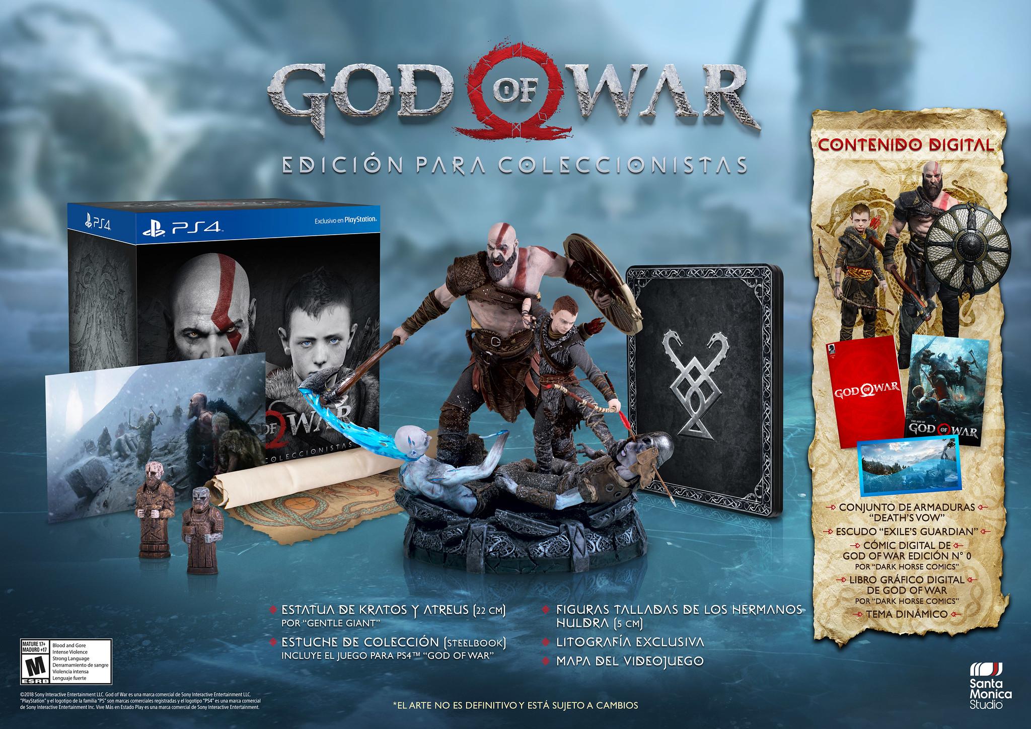 God of War: Nuestra Collector Edition