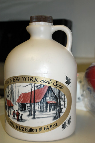 Jug Of Maple Syrup.
