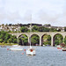 Saltash, Cornwall from the Tamar River, 22nd July 1992