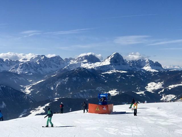 Stunning views from atop Plan De Corones
