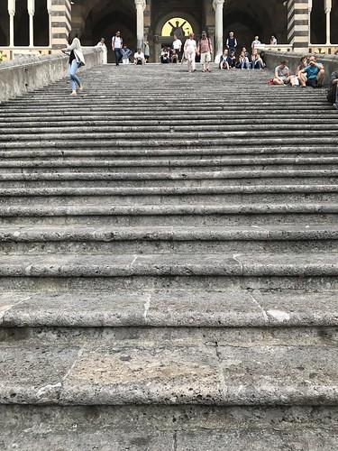 Stairway to Amalfi Duomo