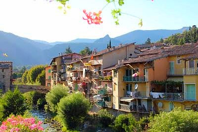 Sospel village near Monte Carlo