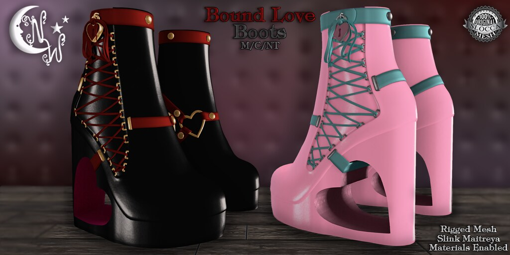 *NW* Bound Love Boots - TeleportHub.com Live!