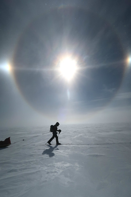 South Pole explorer. Credit: Angelo Felgueiras