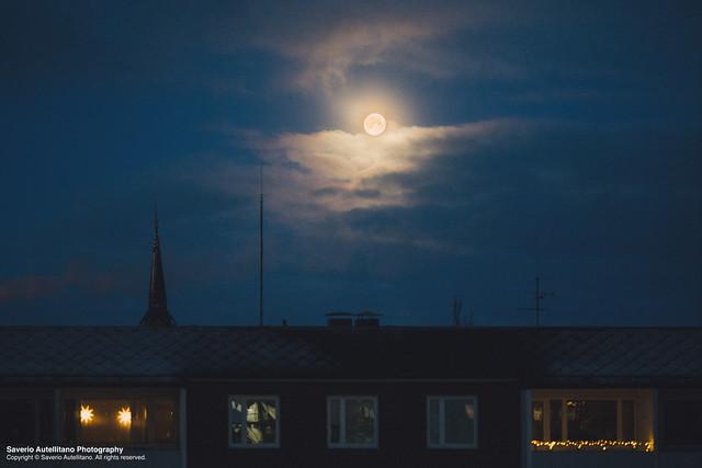 Moody moon.