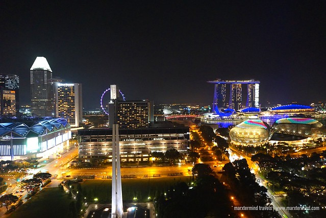 View from Swissotel The Stamford Singapore