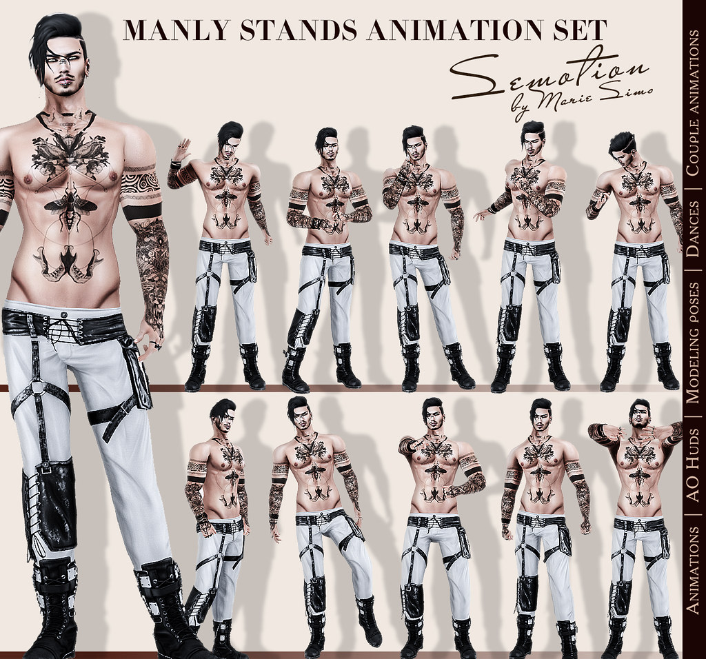 SEmotion-ManlySet - TeleportHub.com Live!