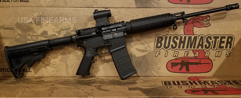 Bushmarster QRC red dot