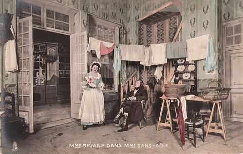 Gabrielle Réjane in Madame Sans-Gêne