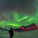 Selfie with Aurora at Churchill Northern Studies Centre (Feb 11, 2018) by Amazing Sky Photography