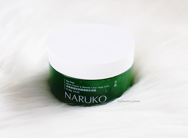 Naruko Tea Tree Shine Control & Blemish Clear Night Gelly2
