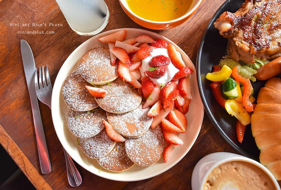 ici cafe 台南草莓鬆餅 早午餐07
