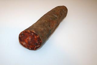 15 - Zutat Chorizo / Ingredient chorizo