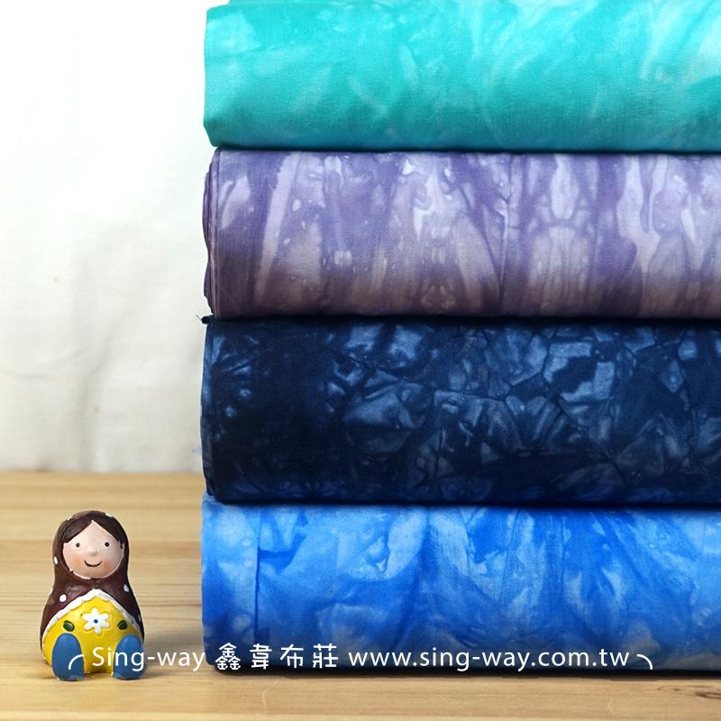 扎染布 暈染 渲染 漸層 手工藝DIy拼布布料 CA790078