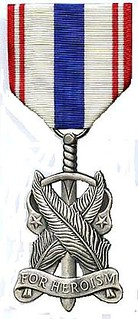 Rotc medal for heroism