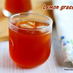 Iced lemongrass tea