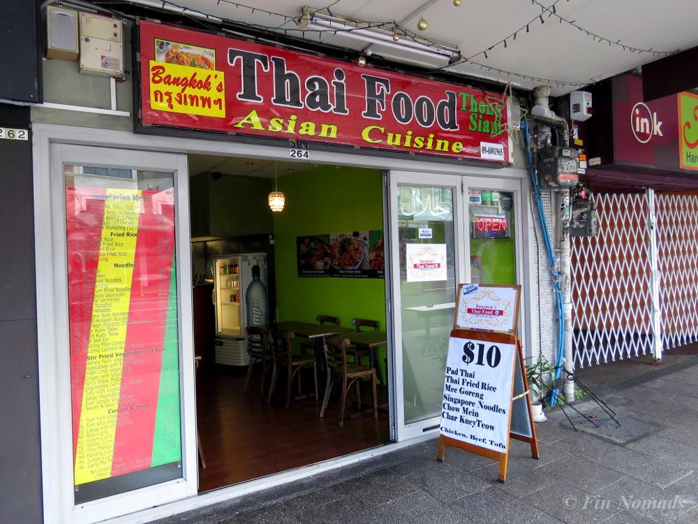 Thai restaurant K-Road