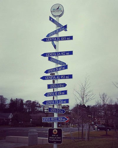 Distance to America'd Genevas! #genevany #fingerlakes