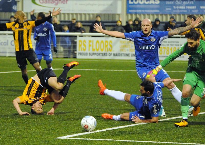 Maidstone United 2-3 Eastleigh