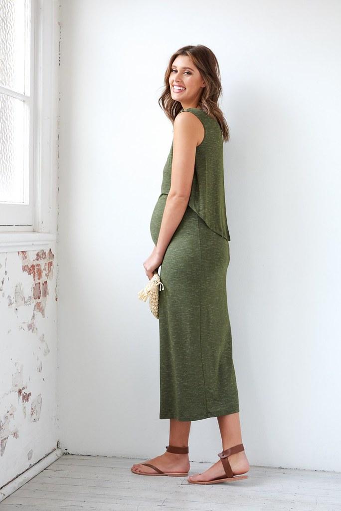Ripe_Swing Back Midi Dress