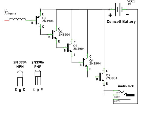 EMF circuit schematic