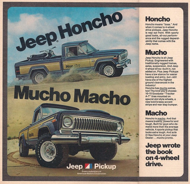 Jeep Honcho 1976