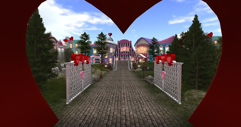 Valentine Town by Laura LIberty