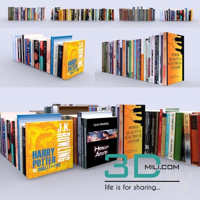 243  Decorative set 3dmodel Free Download - 3D Mili - Download 3D