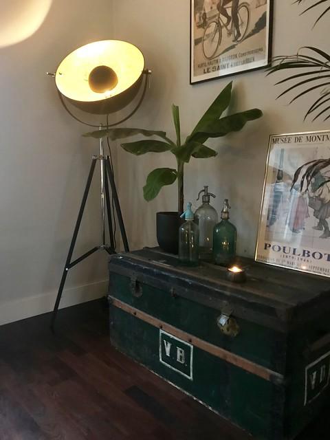 Lamp hoek woonkamer