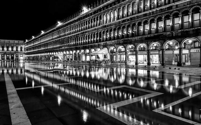 *Venezia/Piazza San Marco @ bianco e nero*