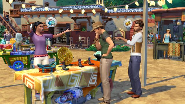 Imagens Oficiais do The Sims 4 Aventuras na Selva