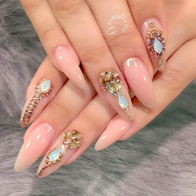 Elegant Ideas for Gel Nail Manicure Designs - Nails C