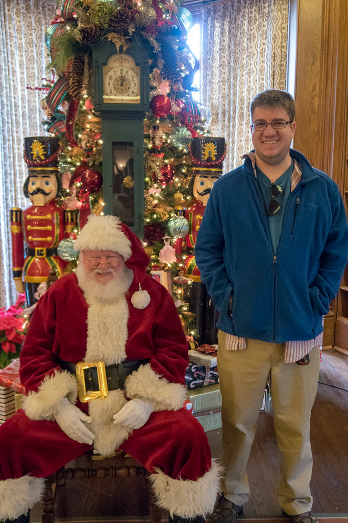 Ken with Santa