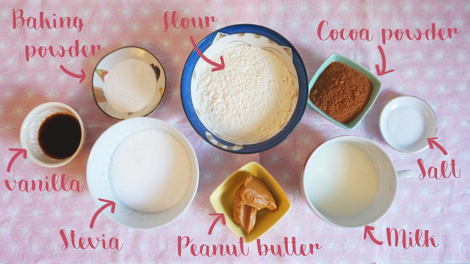 DIY – Muffins au Chocolat & Beurre de Cacahuète