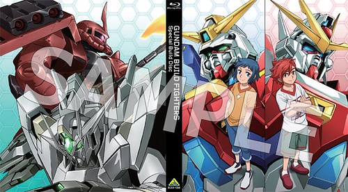 Gundam Build Fighters Special Build Disc