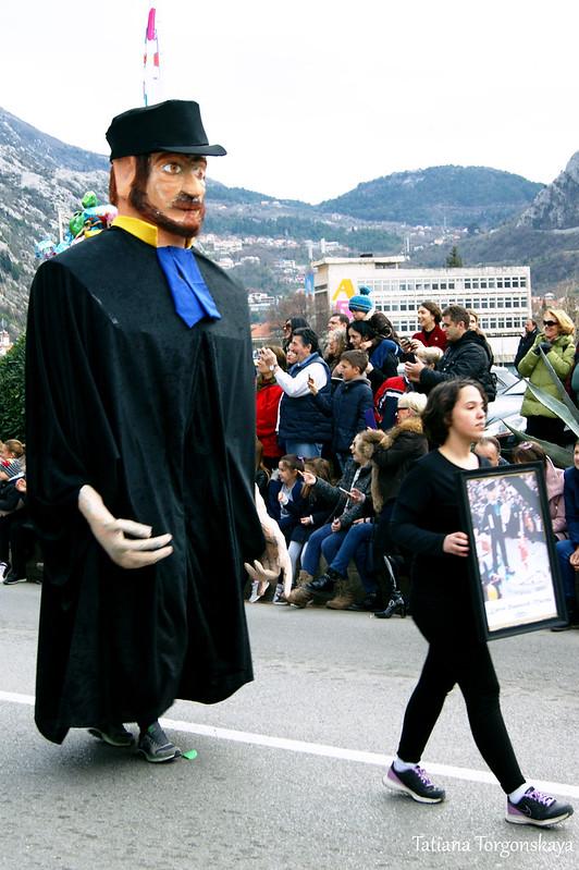 Карнавальная кукла 2001 года