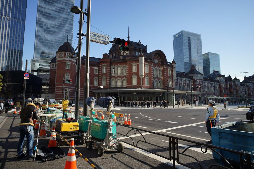 on Tokyo station