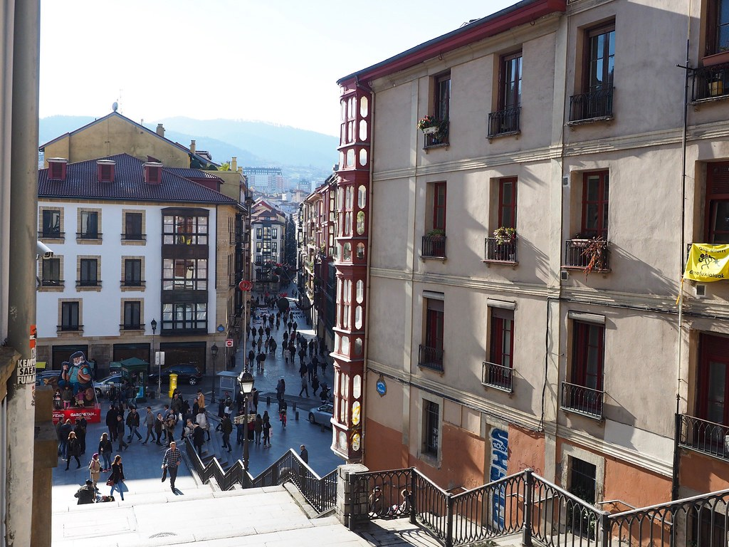 Bilbao old city