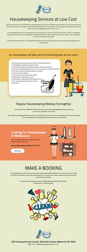 Housekeeping Services at Low Cost Melbourne
