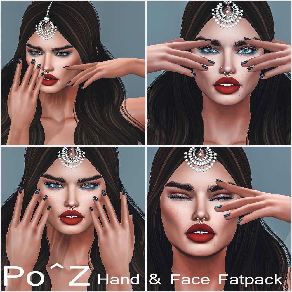 Hands & Face Poses @ Po^Z
