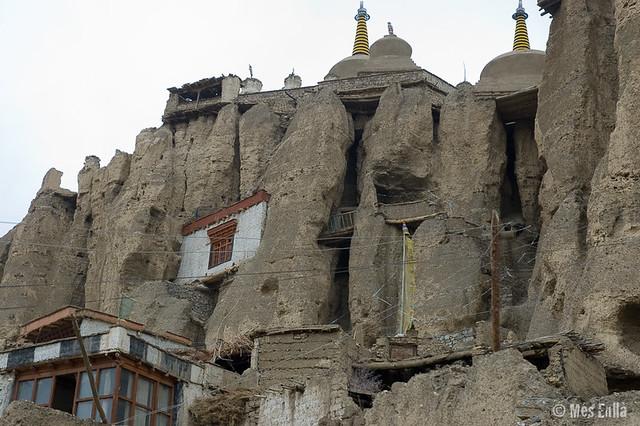 Partes del monasterio de Lamayuru