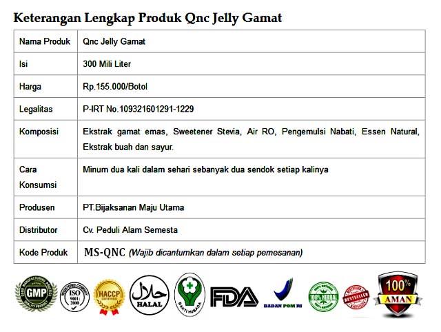 Pesan QnC Jelly Gamat Di Kota Surakarta Solo