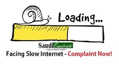 Facing Slow Internet Speed Issues in Saudi - Complaint Now!