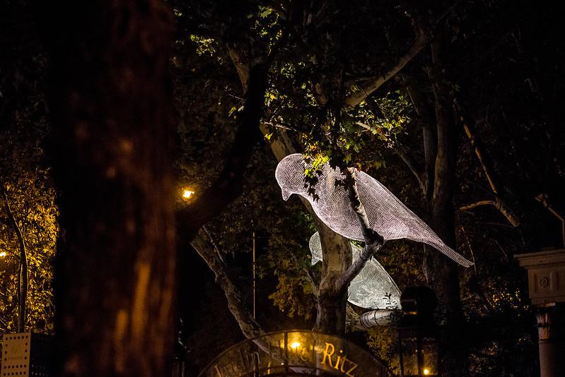 Luna de Octubre, Madrid