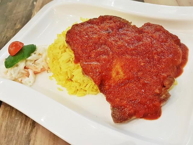 Ayam Masak Merah Chicken Chop With Rice