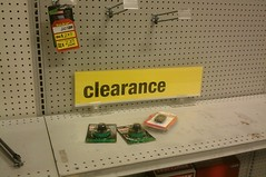 Clearance (gift!?) items