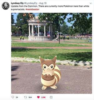 more Pokemon than white supremacists