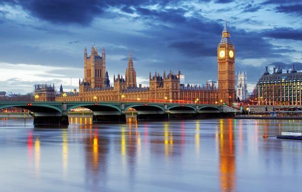 London Westminster Big Ben