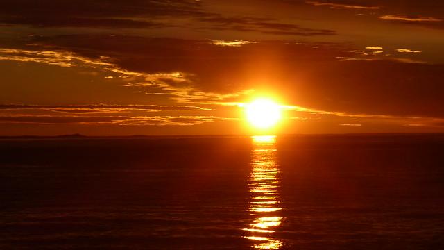 Dease Strait sunset