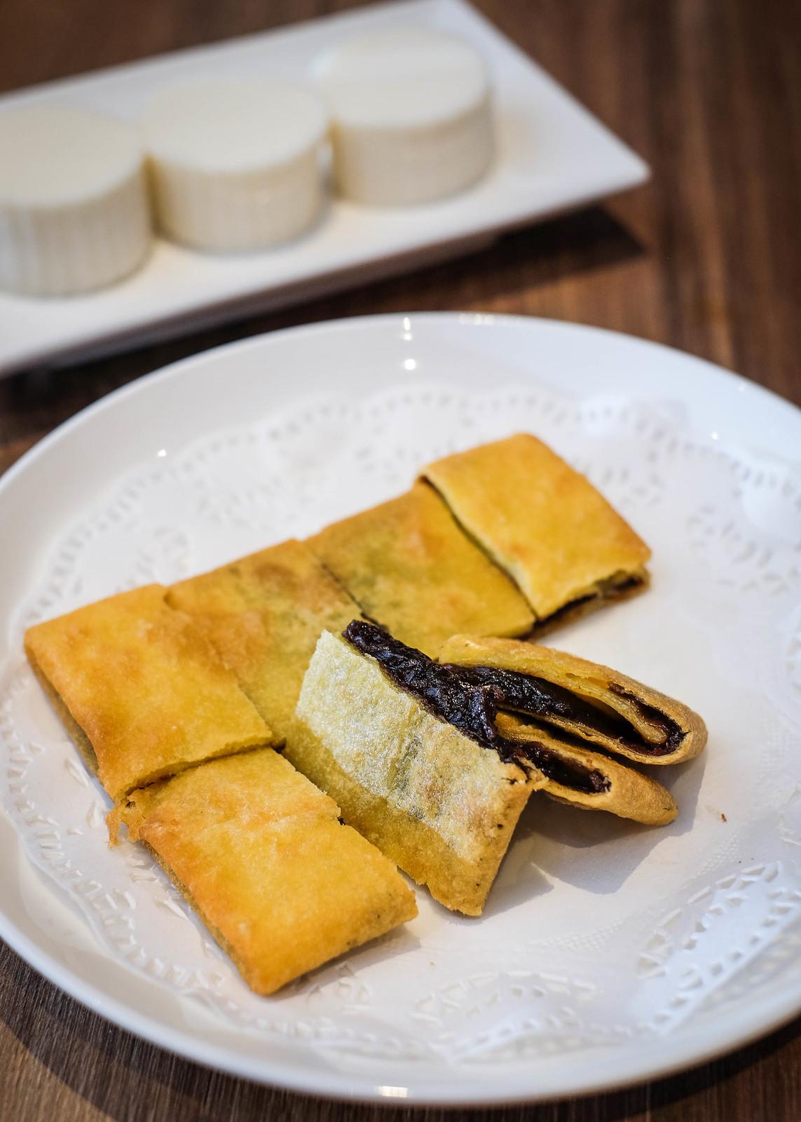 Redbean pancake 2